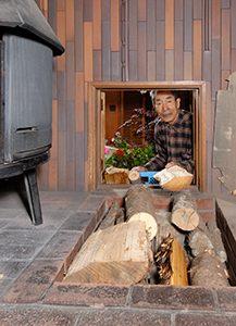 薪 薪ストーブ 炉台